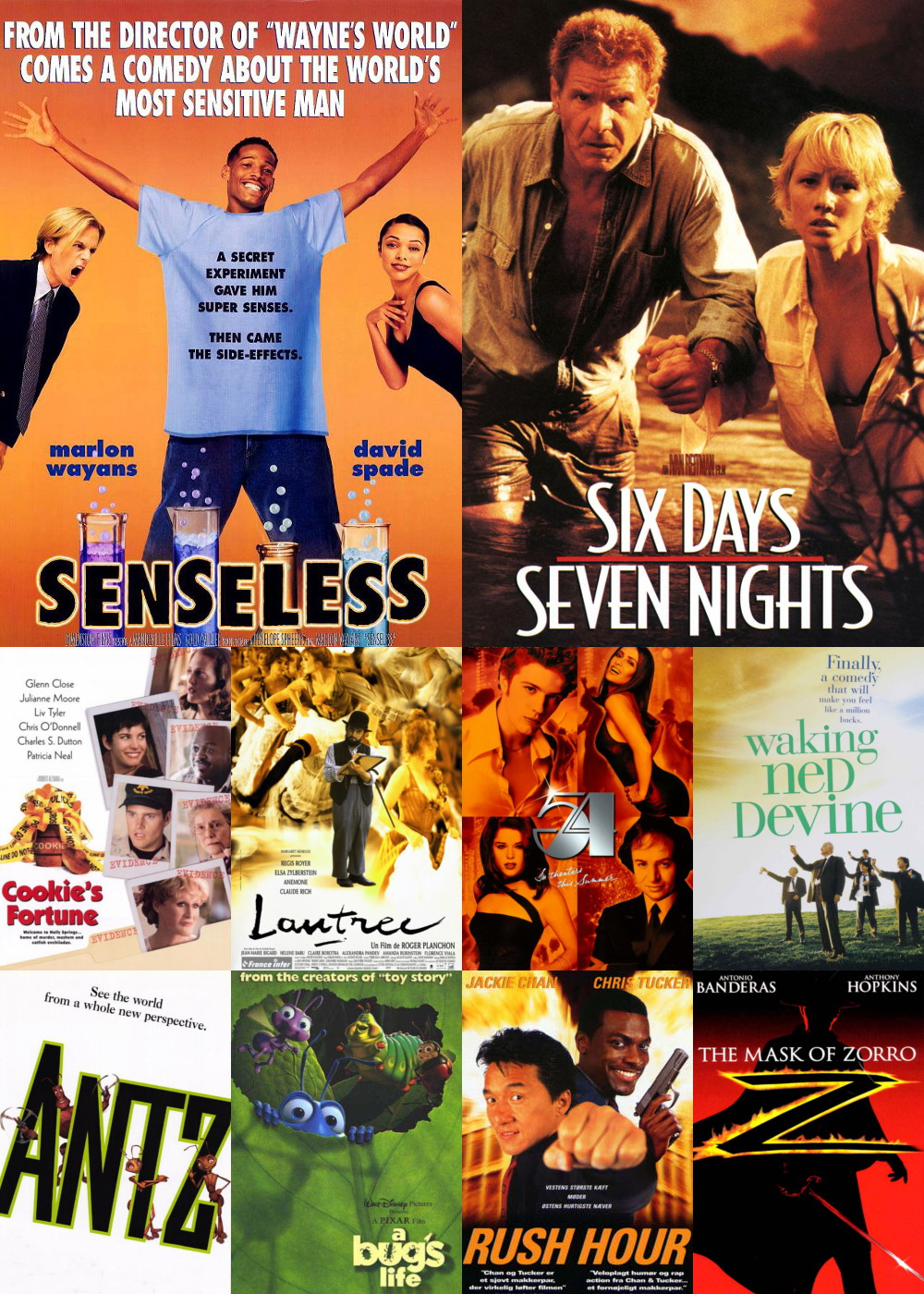 Top 11-20 Comedy Movies 1998