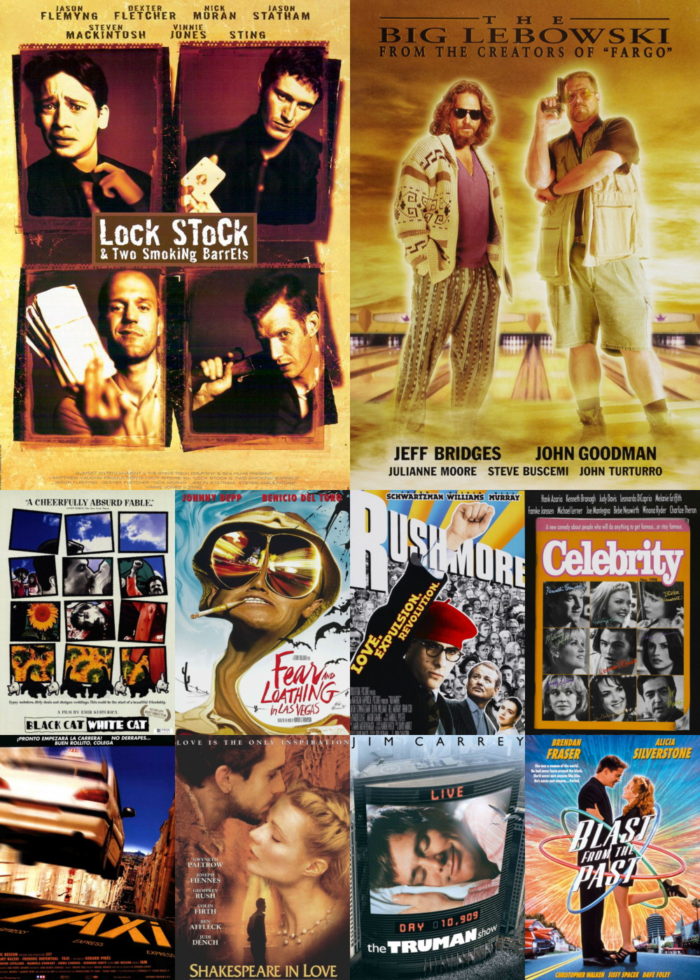 Top 1-10 Comedy Movies 1998