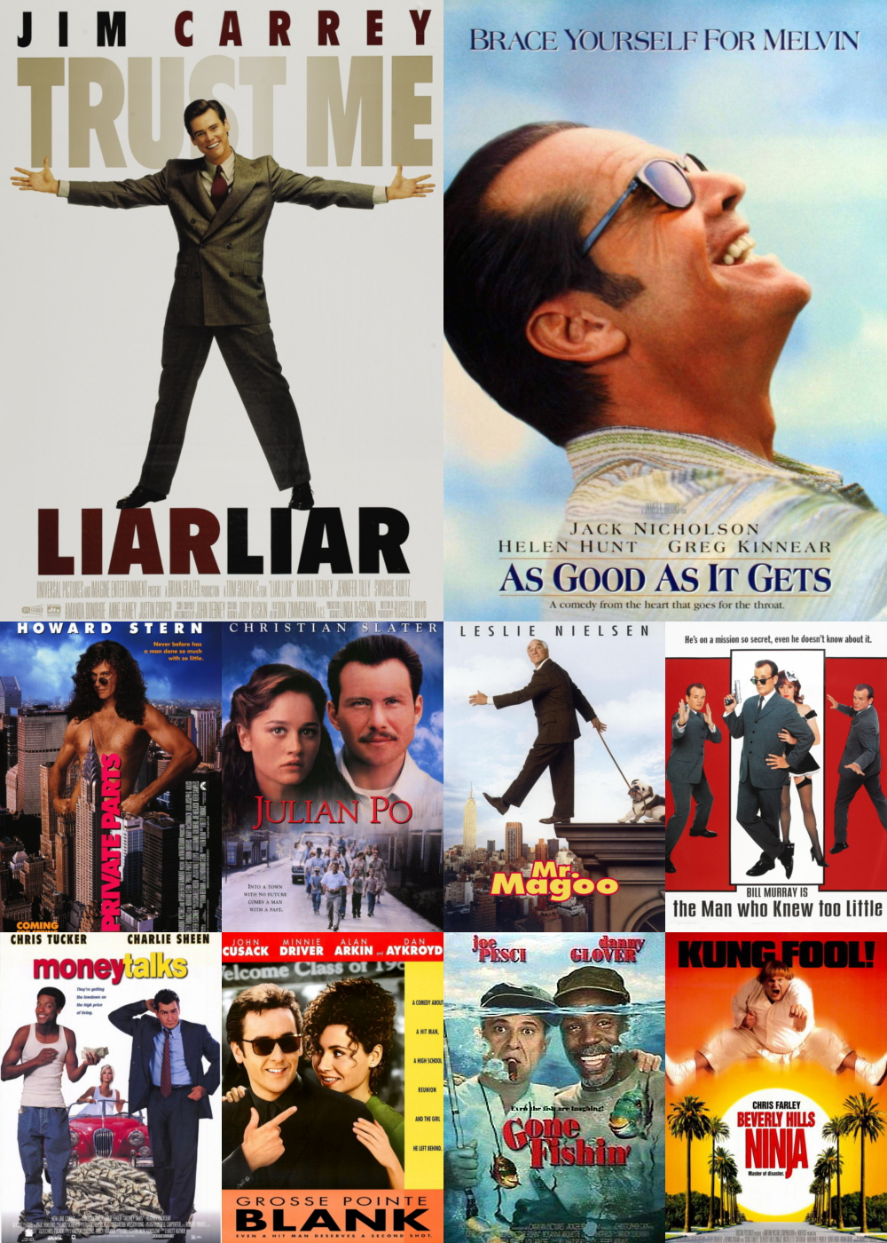 Top 11-20 Comedy Movies 1997
