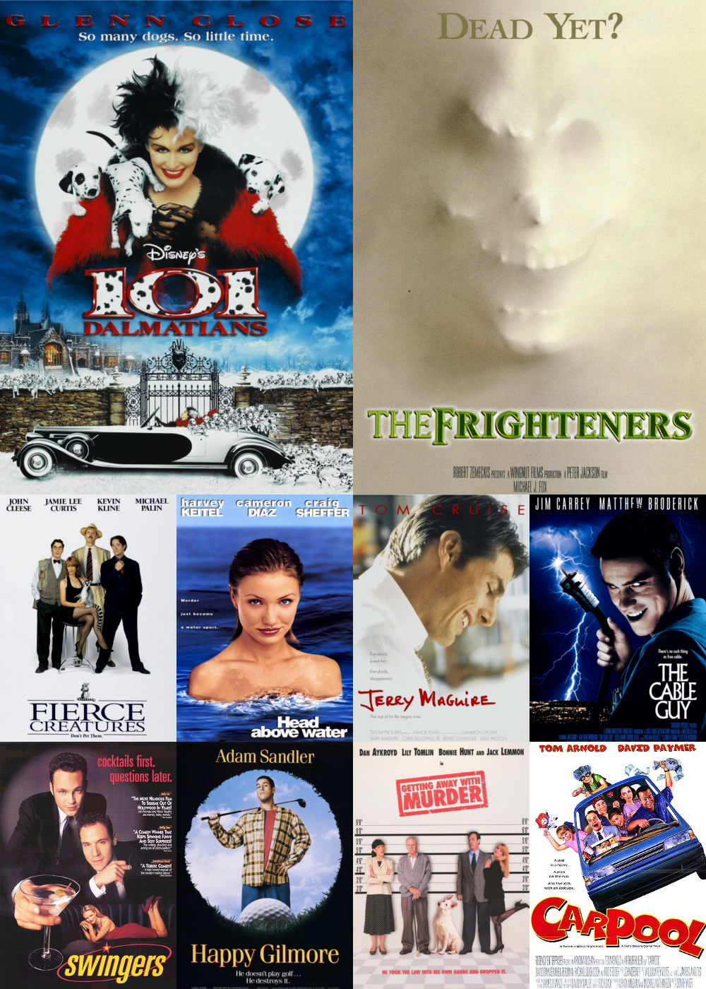 Top 11-20 Comedy Movies 1996
