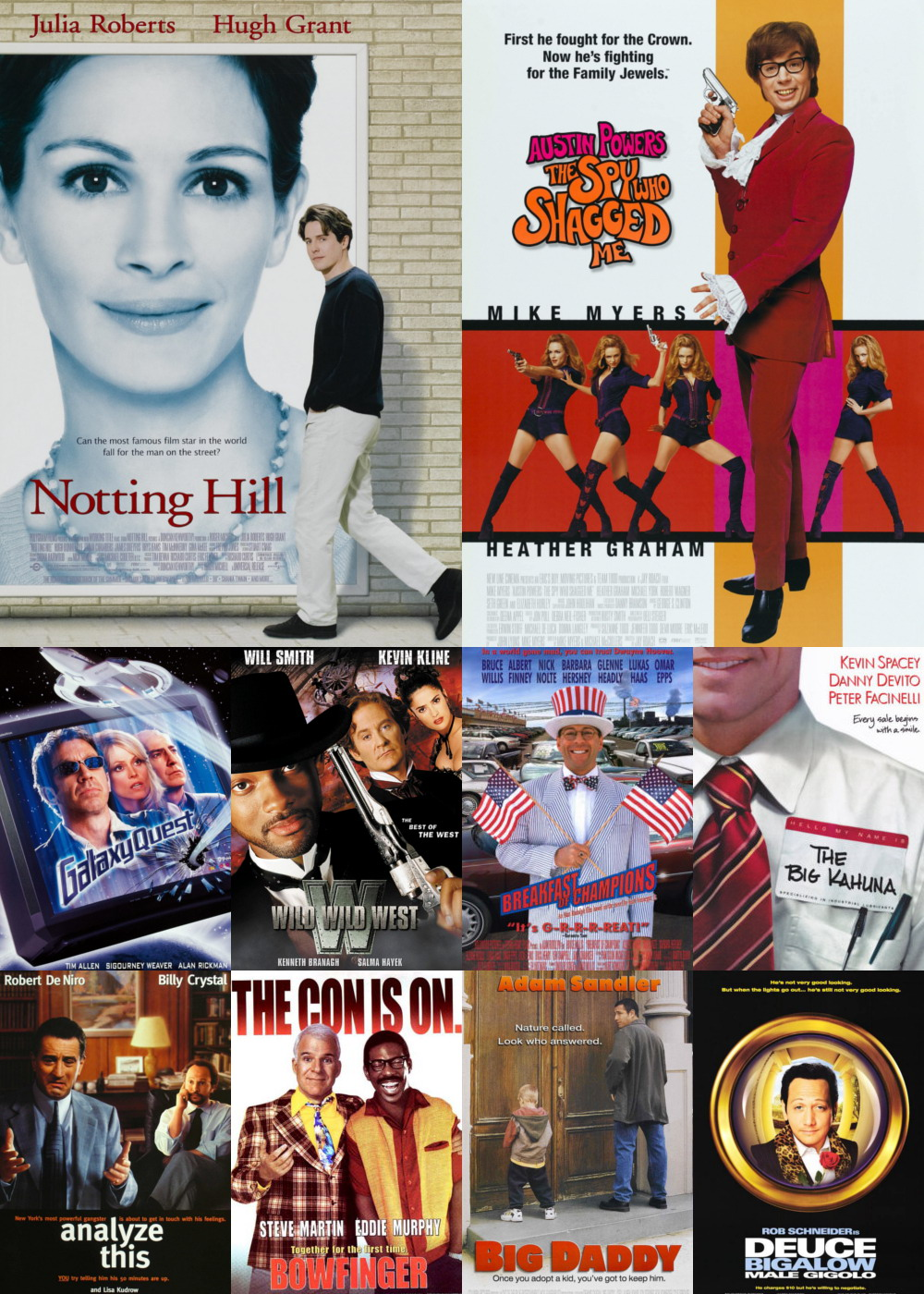 Top 11-20 Comedy Movies 1999