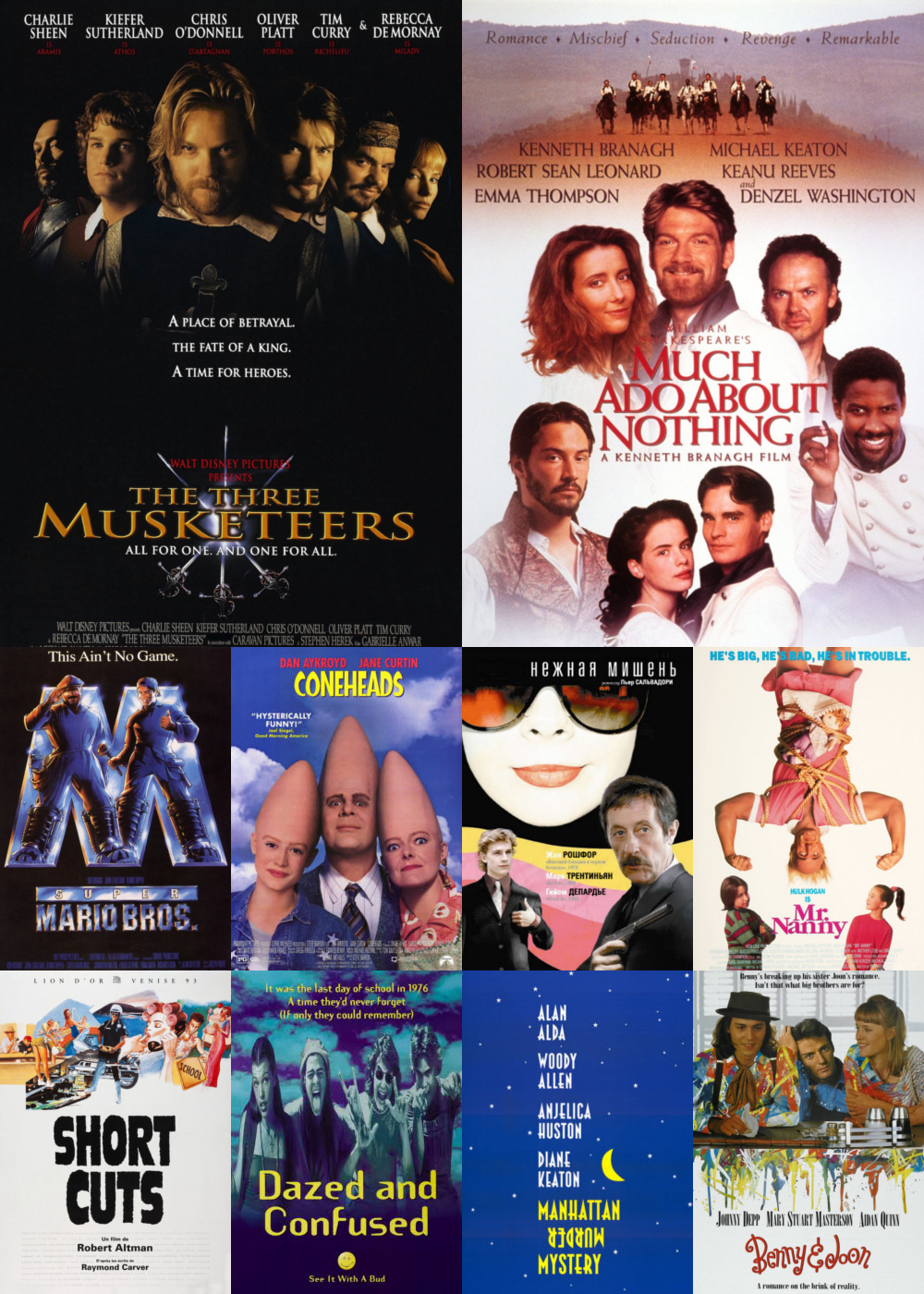 Top 11-20 Comedy Movies 1994