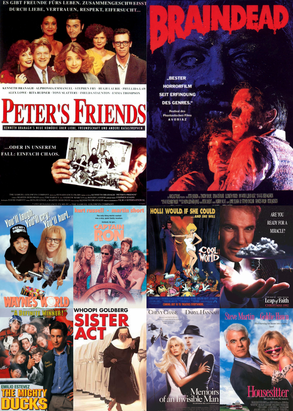 Top 11-20 Comedy Movies 1992