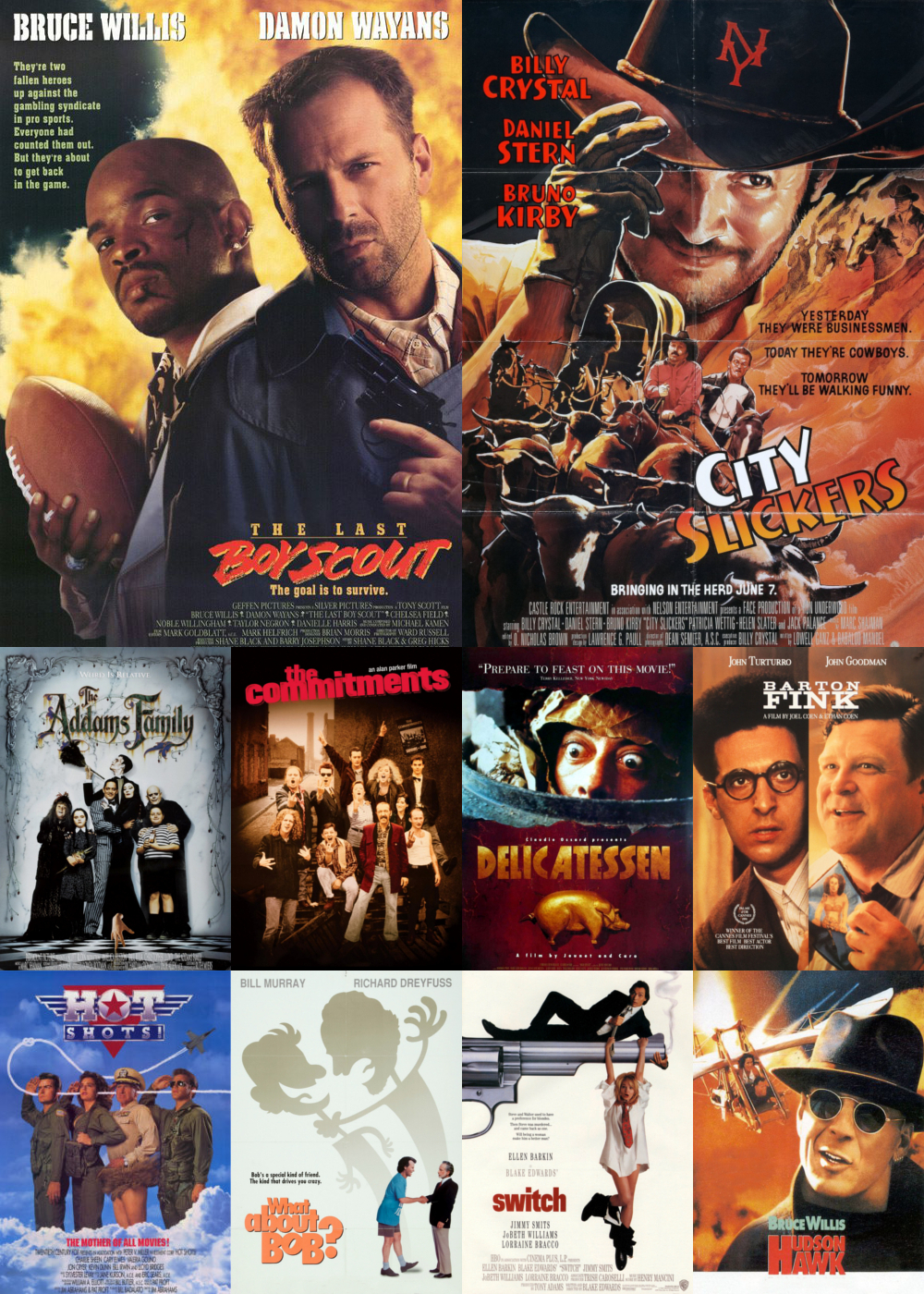 Top 1-10 Comedy Movies 1991