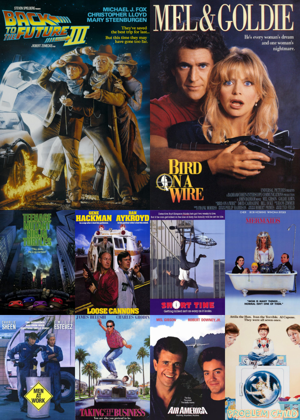 Top 11-20 Comedy Movies 1990