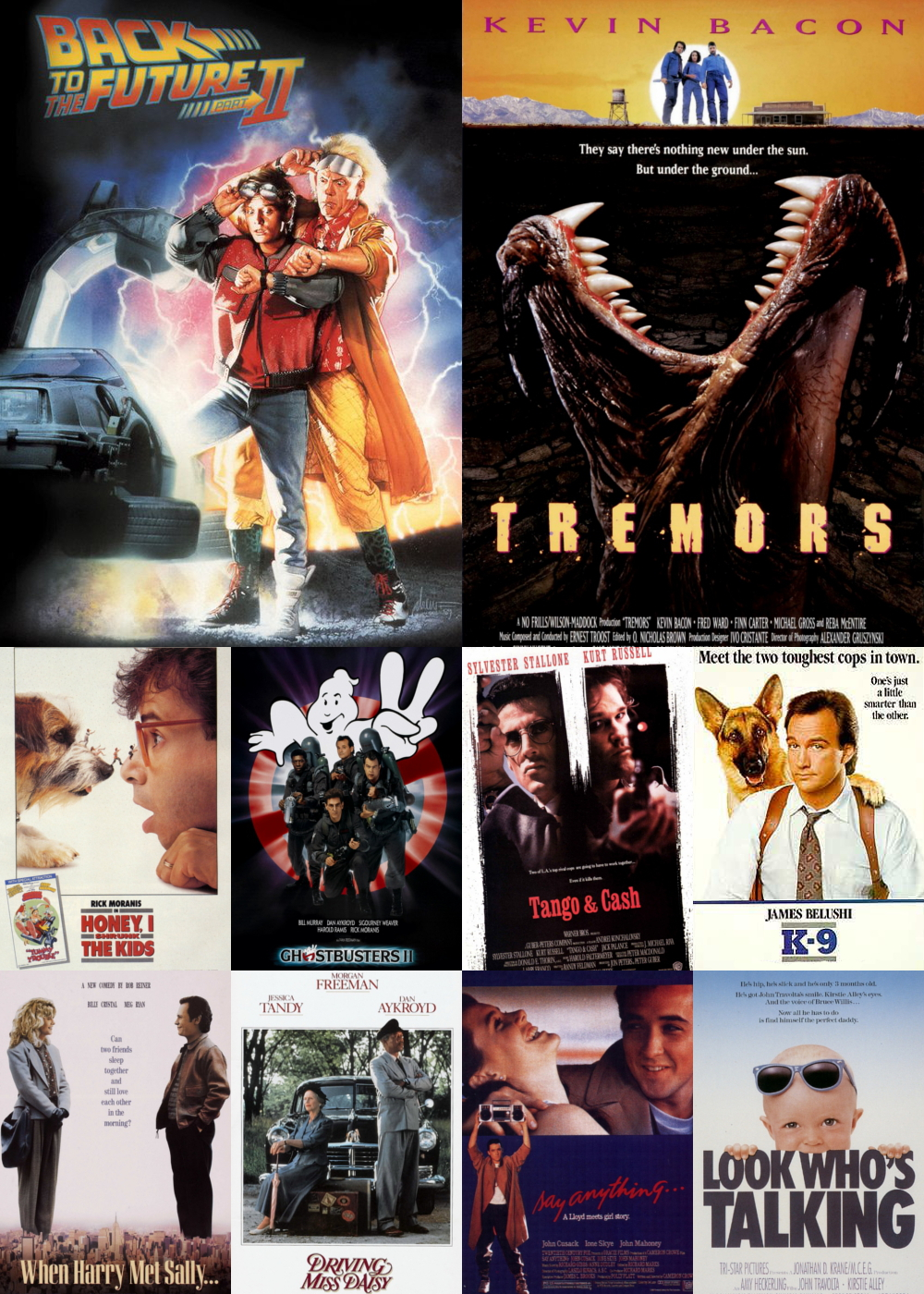 Top 1-10 Comedy Movies 1989