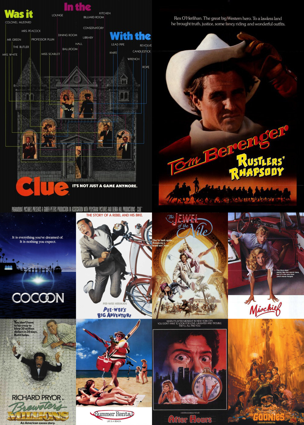 Top 11-20 Comedy Movies 1985