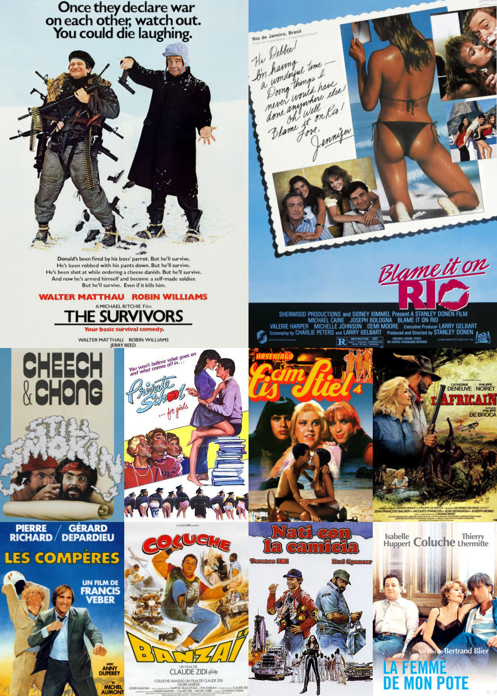Top 11-20 Comedy Movies 1983