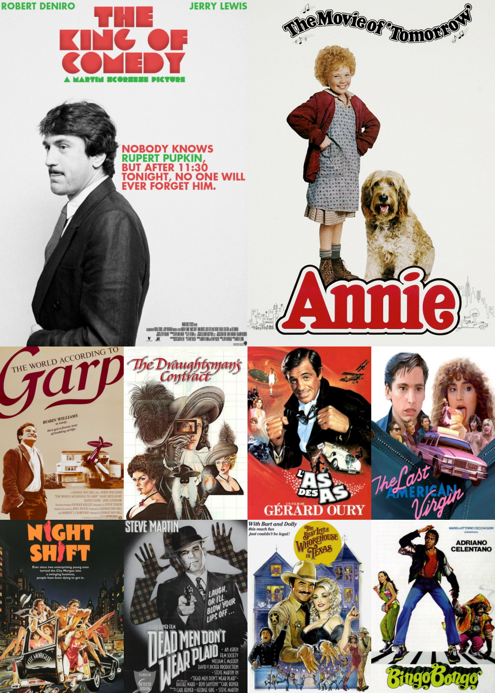 Top 11-20 Comedy Movies 1982
