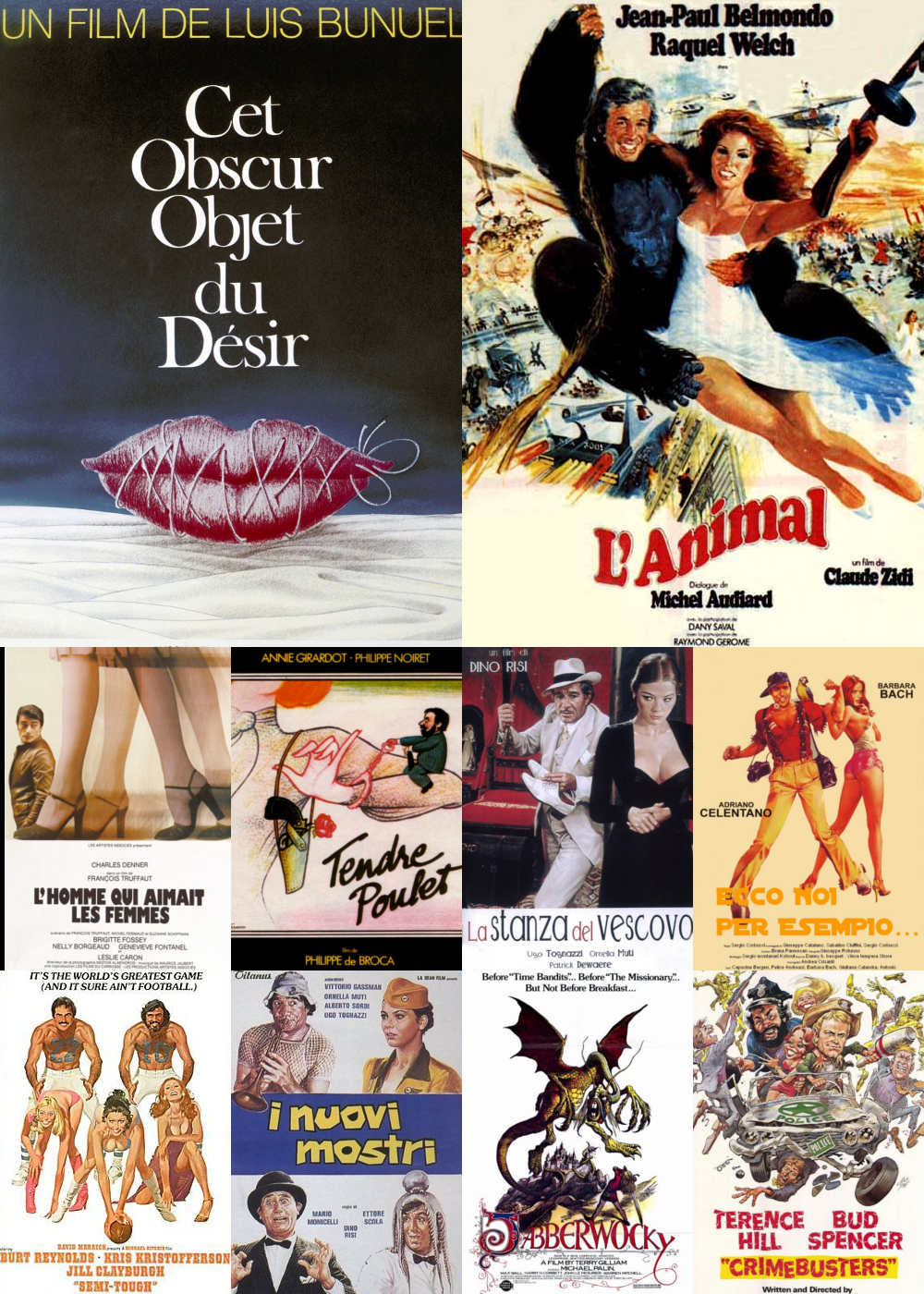 Top 11-20 Comedy Movies 1977