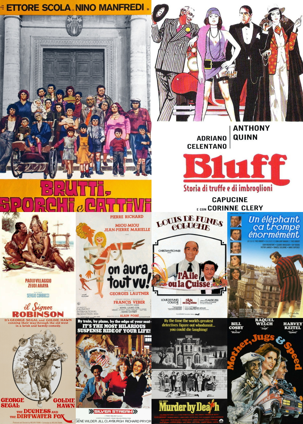 Top 11-20 Comedy Movies 1976