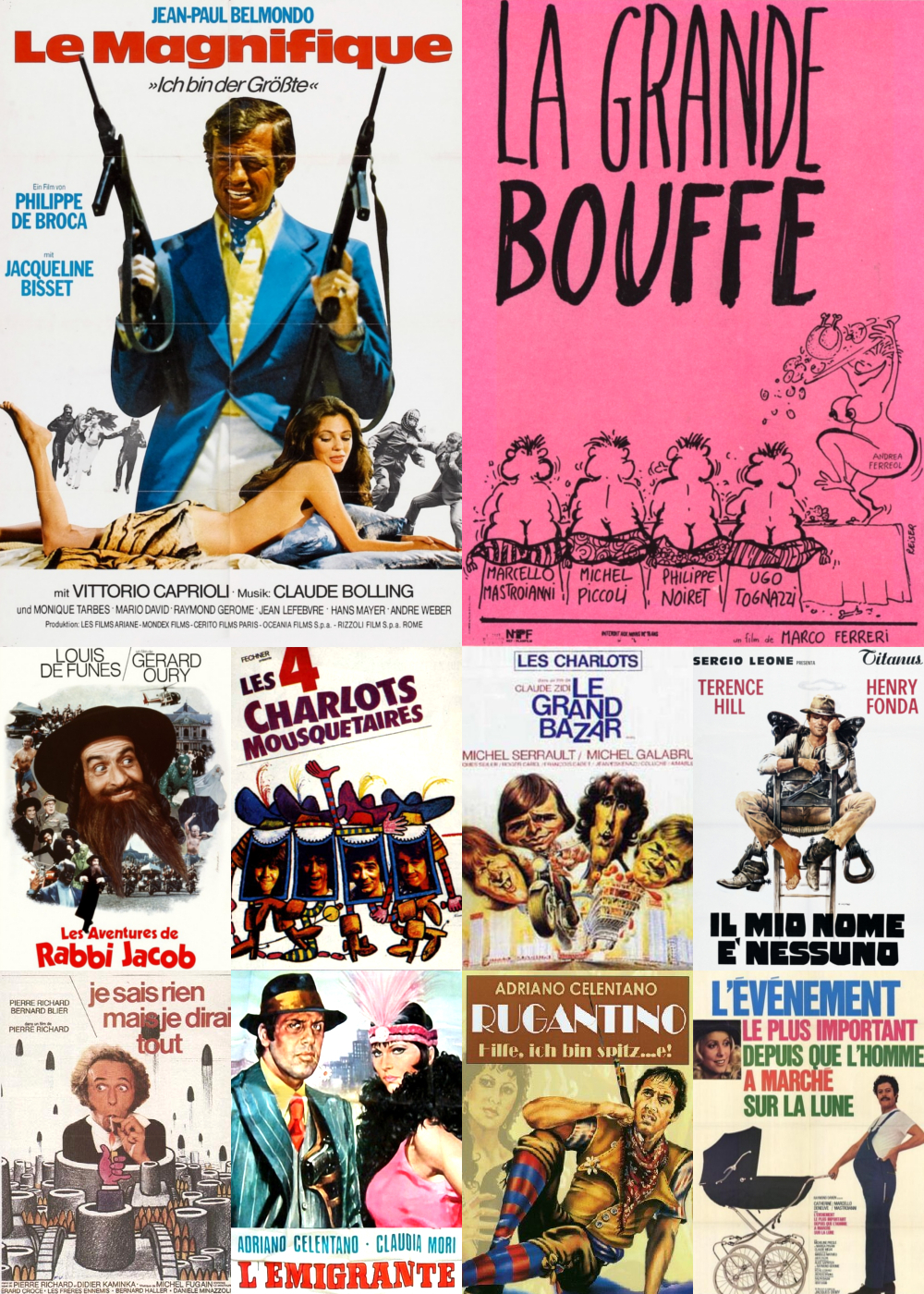 Top 11-20 Comedy Movies 1973
