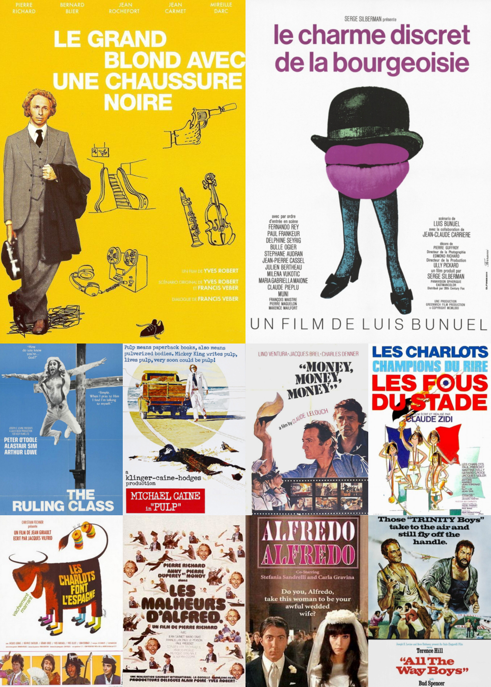 Top 11-20 Comedy Movies 1972