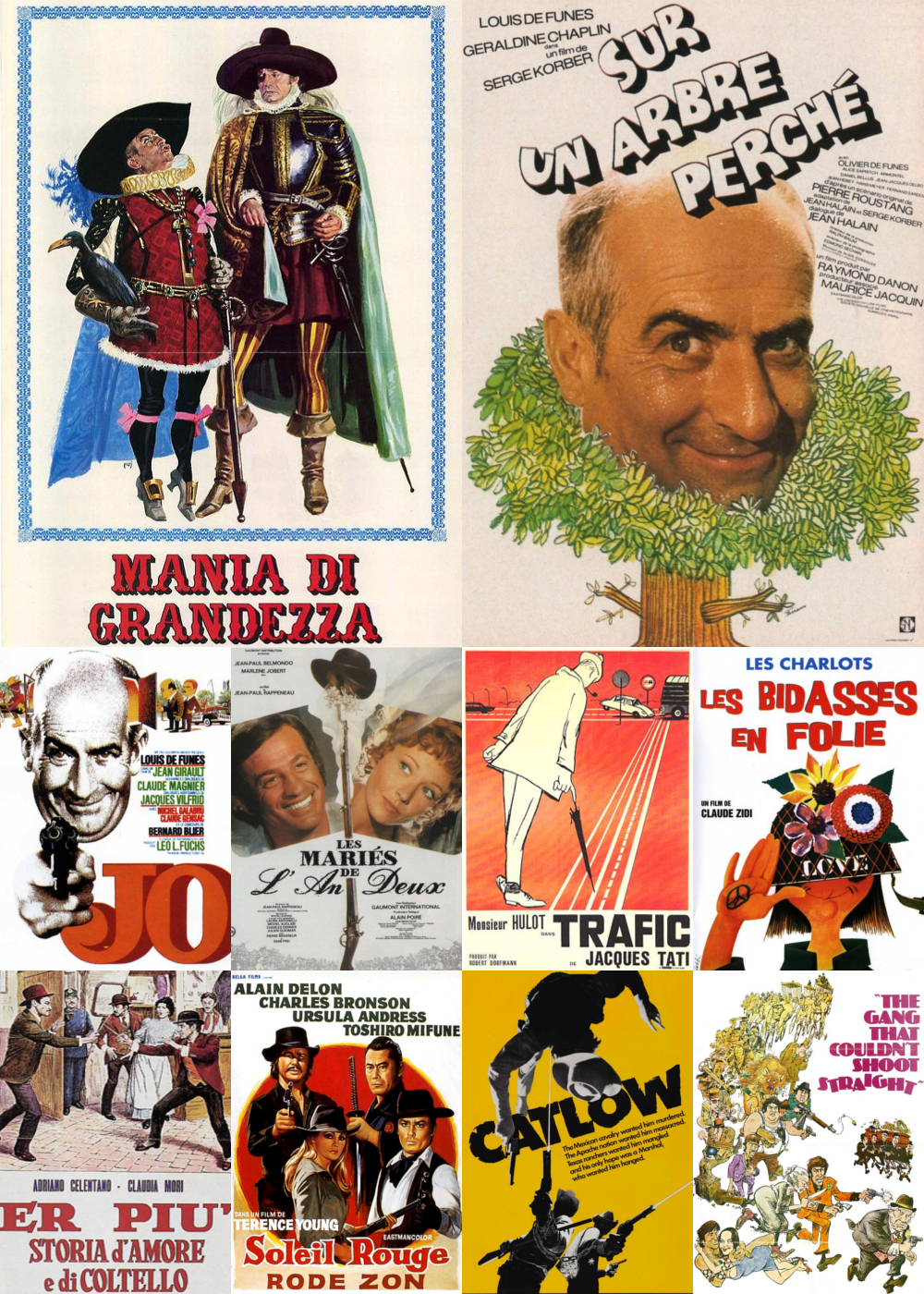 Top 11-20 Comedy Movies 1971