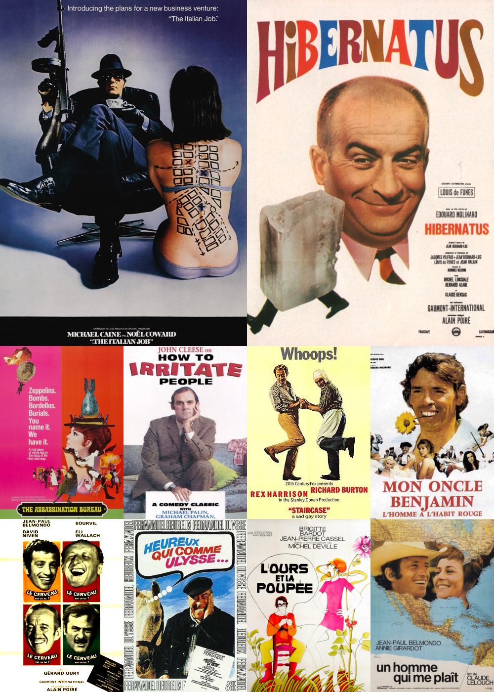 Top 11-20 Comedy Movies 1969