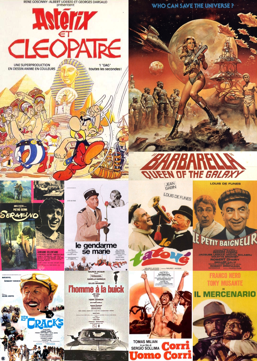 Top 11-20 Comedy Movies 1968