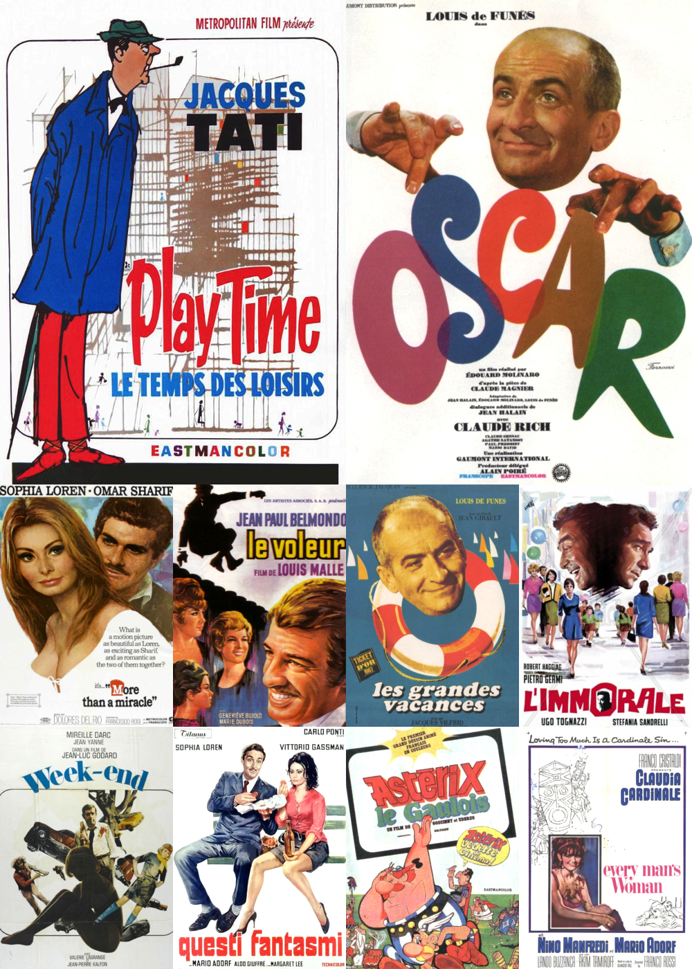 Top 11-20 Comedy Movies 1967