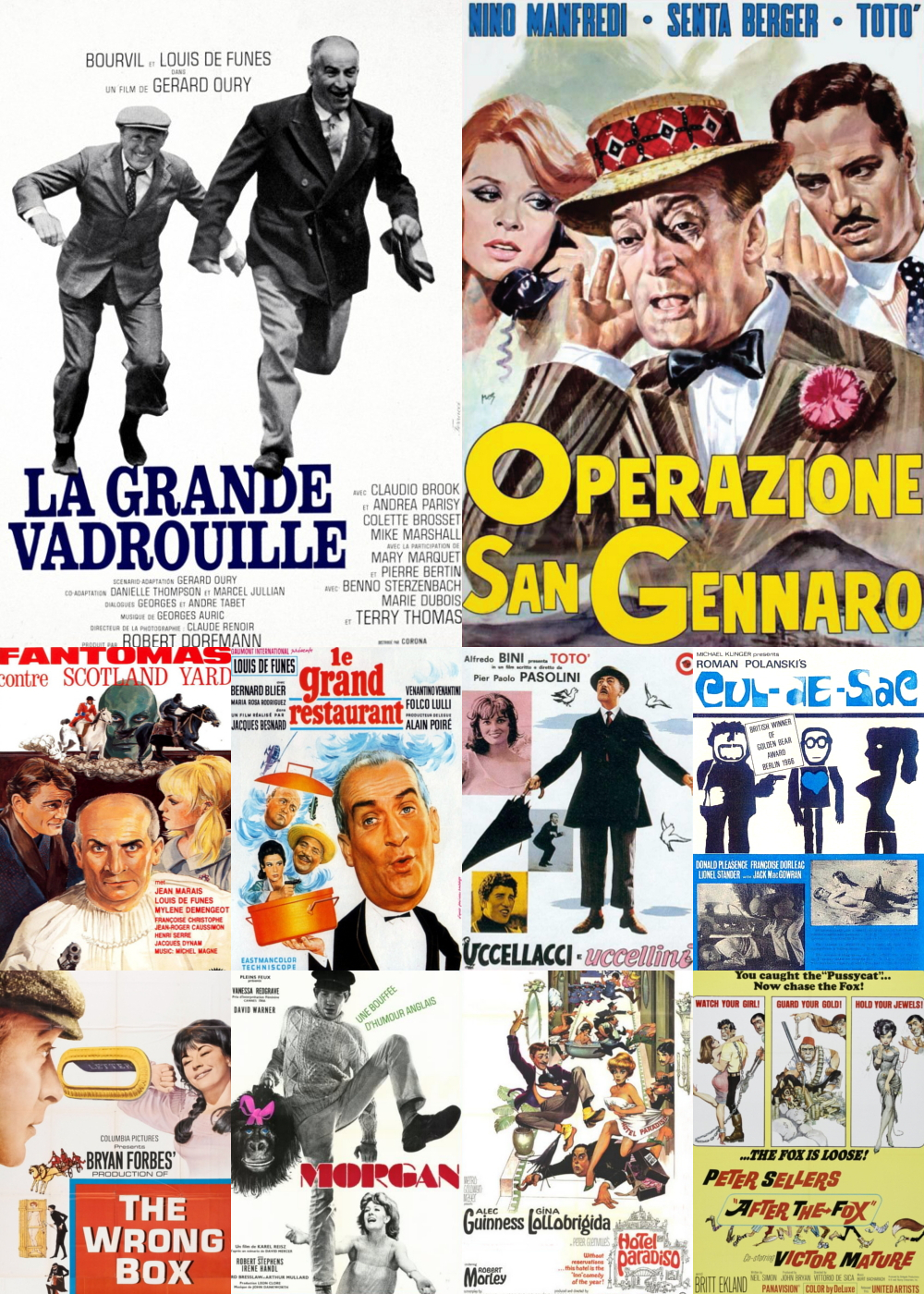 Top 11-20 Comedy Movies 1966