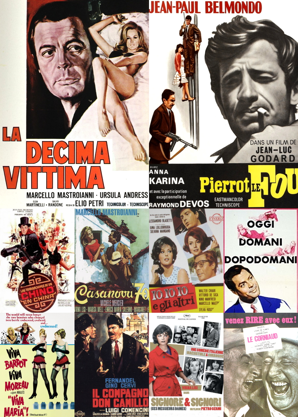 Top 11-20 Comedy Movies 1965