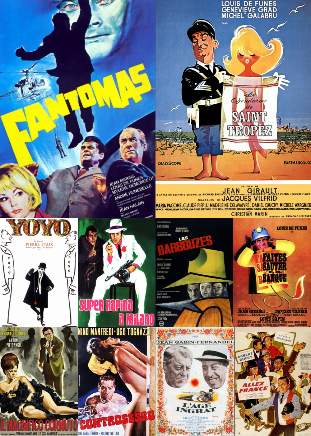 Top 11-20 Comedy Movies 1964