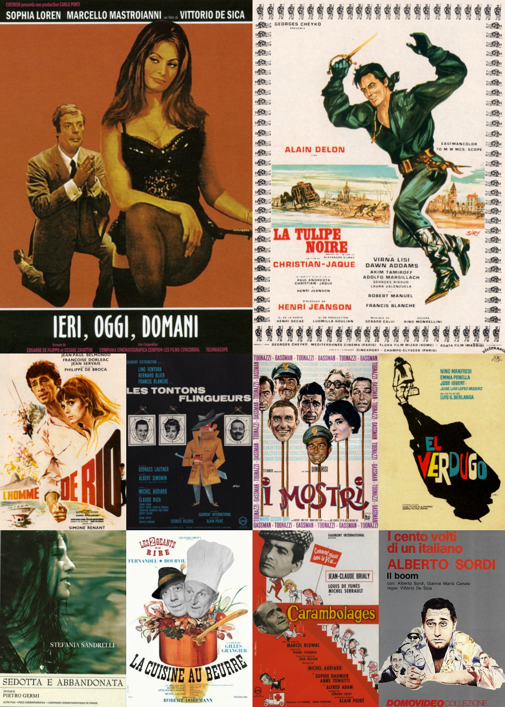 Top 11-20 Comedy Movies 1963