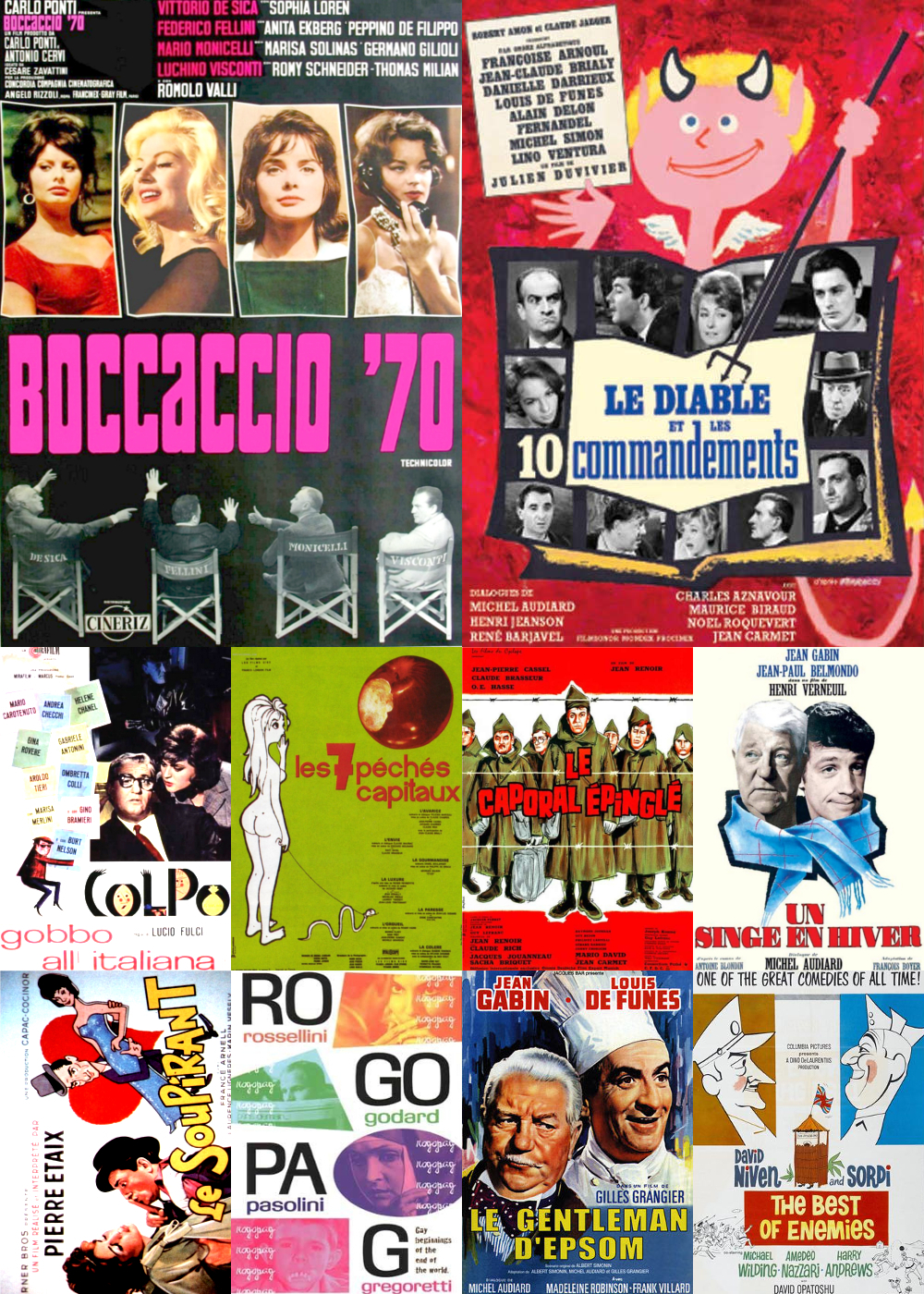 Top 11-20 Comedy Movies 1962