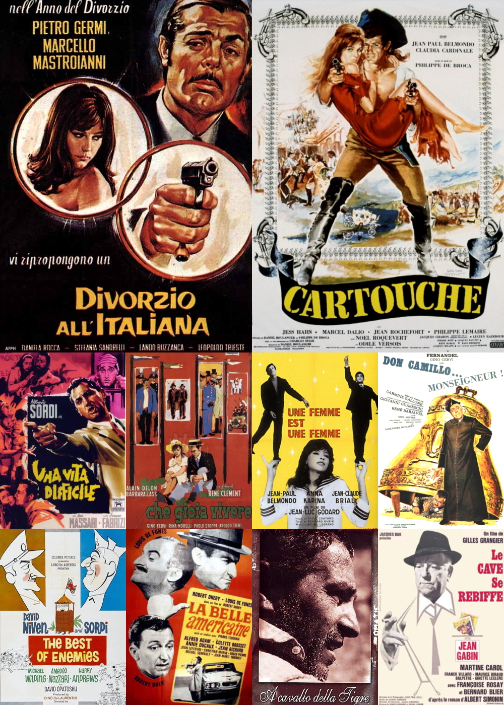 Top 11-20 Comedy Movies 1961
