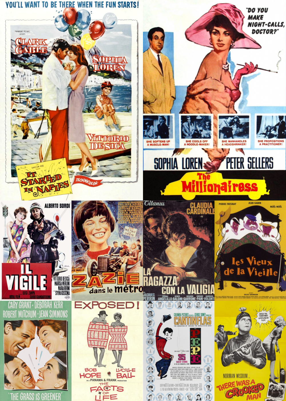 Top 11-20 Comedy Movies 1960