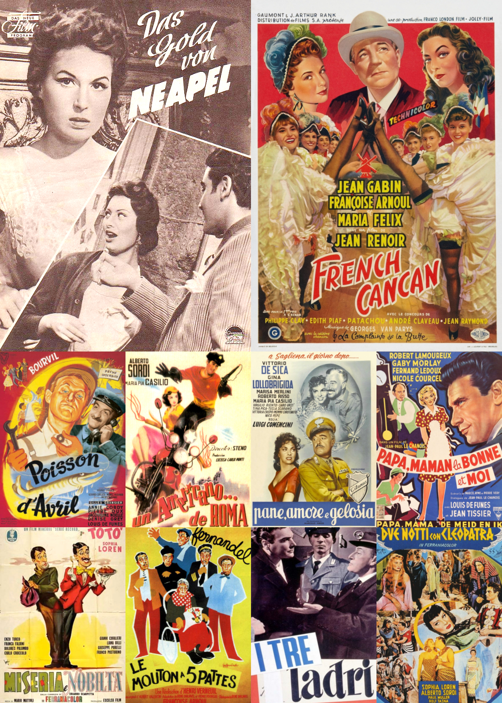 Top 11-20 Comedy Movies 1954