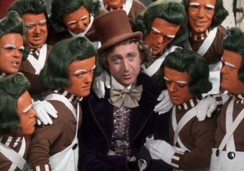 Вилли Вонка и шоколадная фабрика... актёры фильма 45 лет спустя