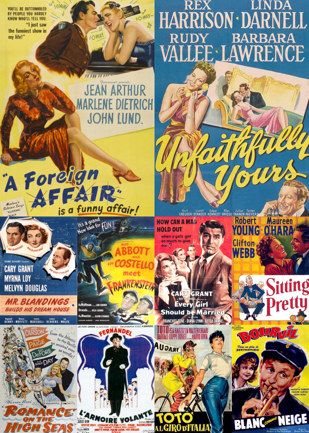 Top 10 Comedy Movies 1948