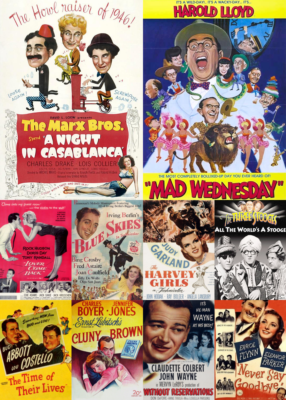Top 10 Comedy Movies 1946