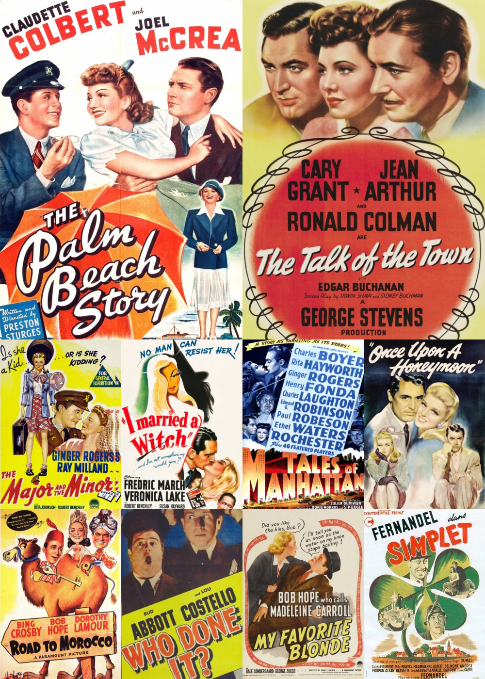 Top 10 Comedy Movies 1942