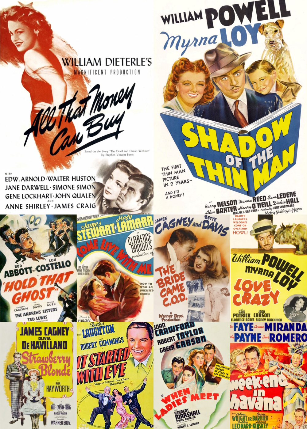 Top 11-20 Comedy Movies 1941