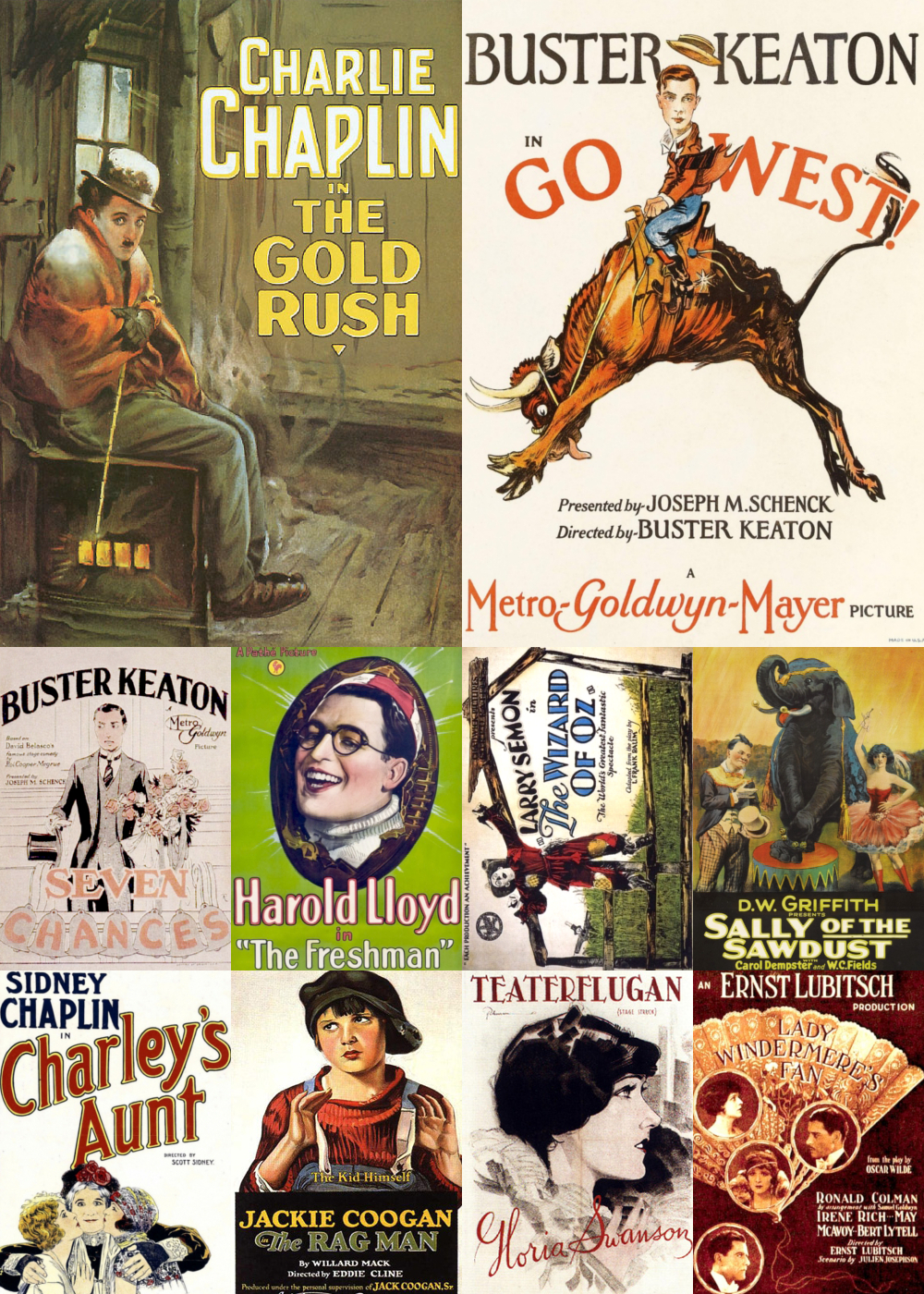 Top 10 Comedy Movies 1925