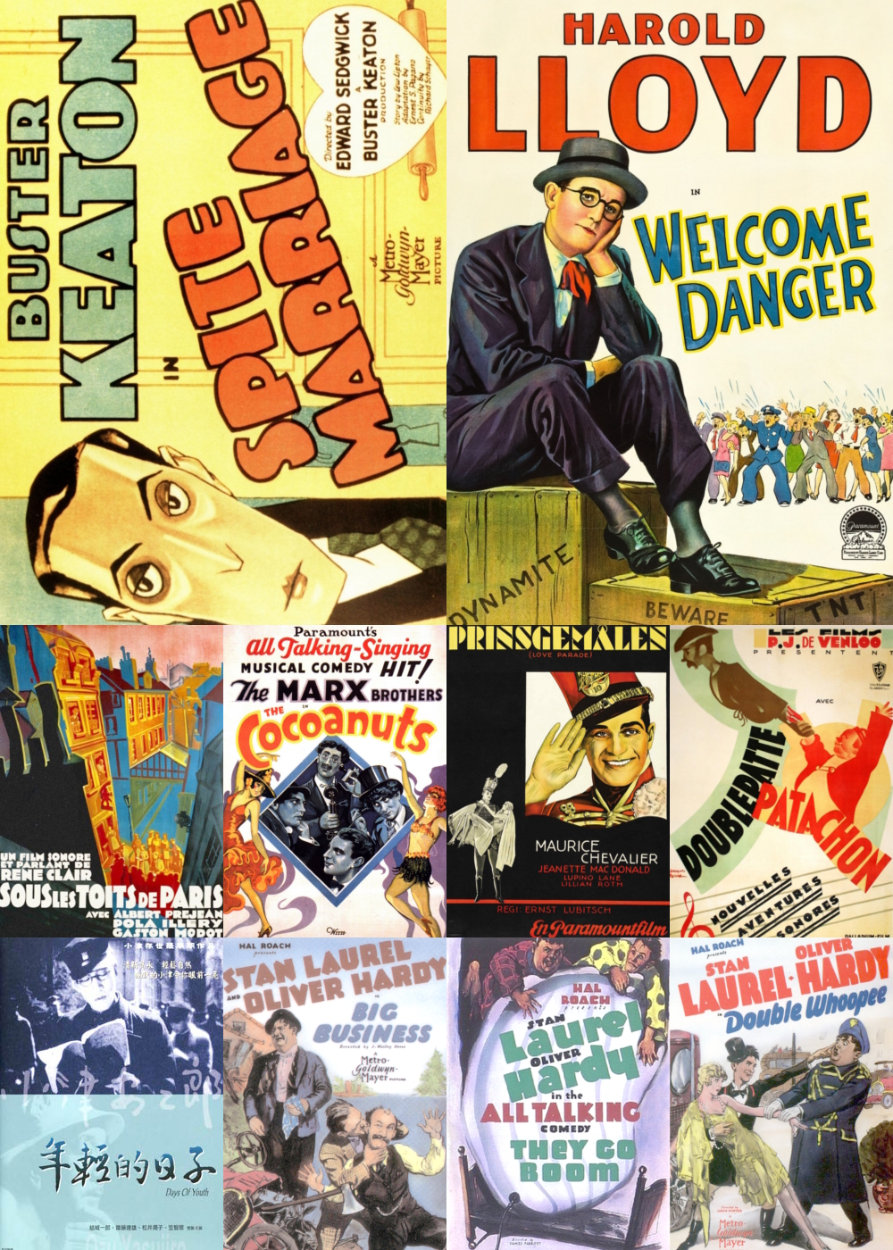 Top 10 Comedy Movies 1929