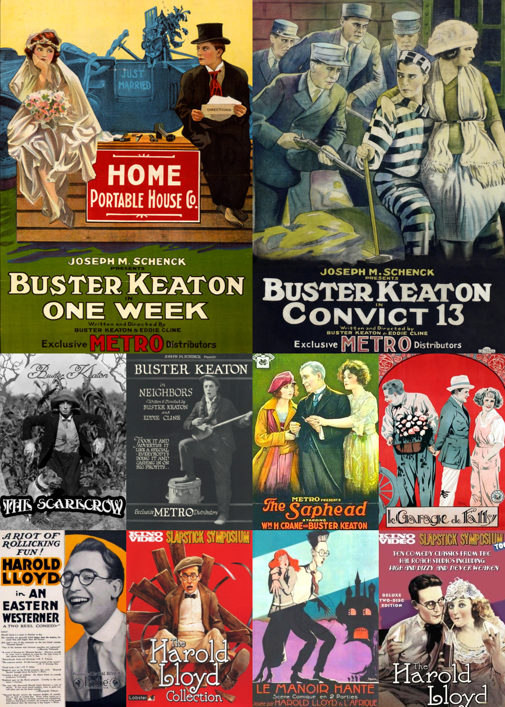 Top 10 Comedy Movies 1920