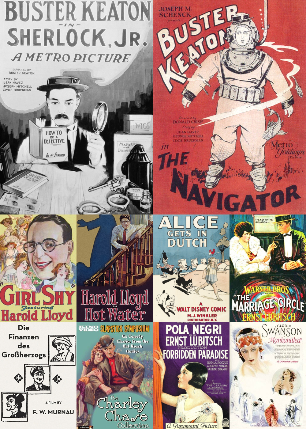 Top 10 Comedy Movies 1924