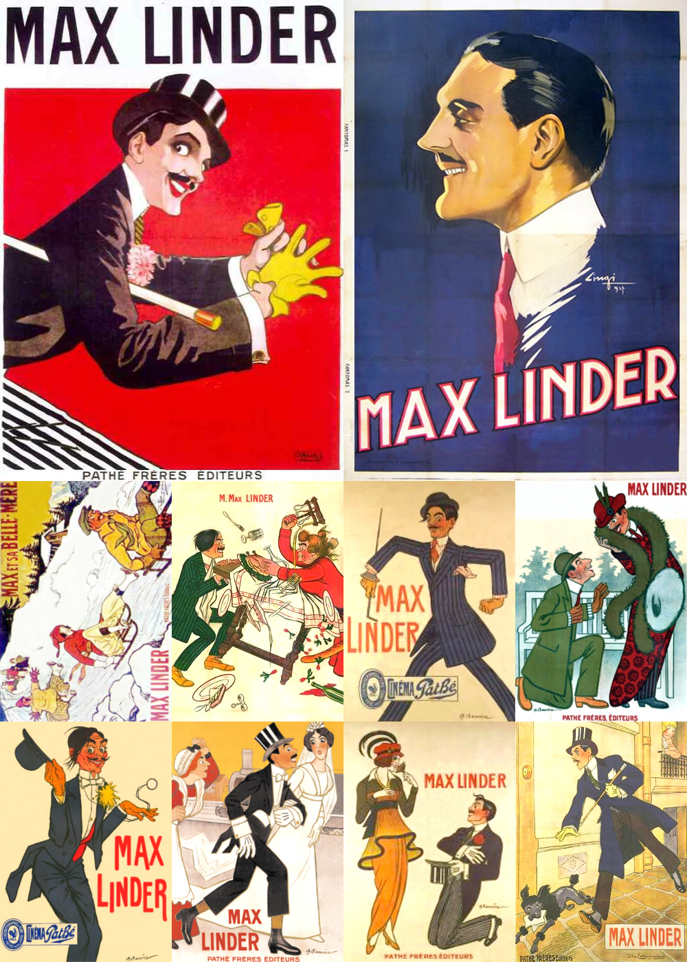 Top 10 Comedy Movies 1910-Max Linder