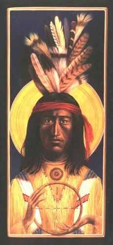 Христос_Индейская иконопись