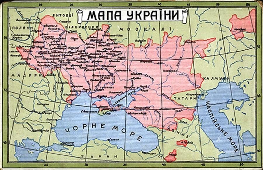 Мапа Петлюры