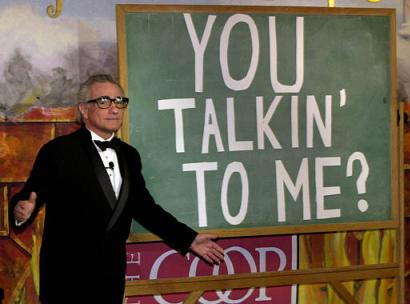 Мартин Скорсезе Ты со мной разговариваешь?!