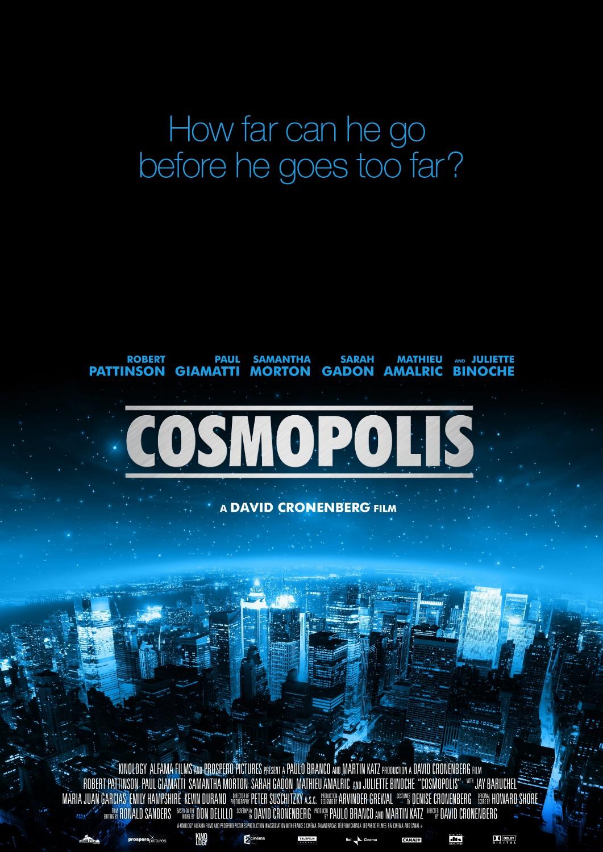 Космополис постер