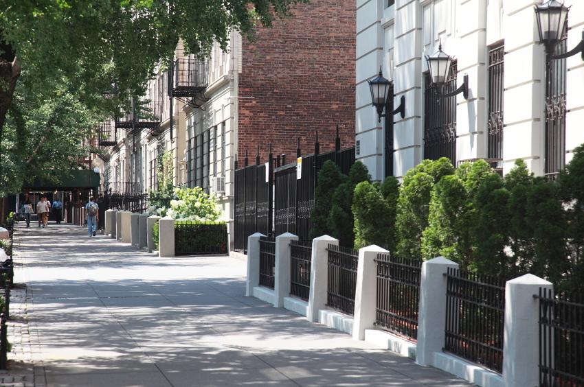 central park street
