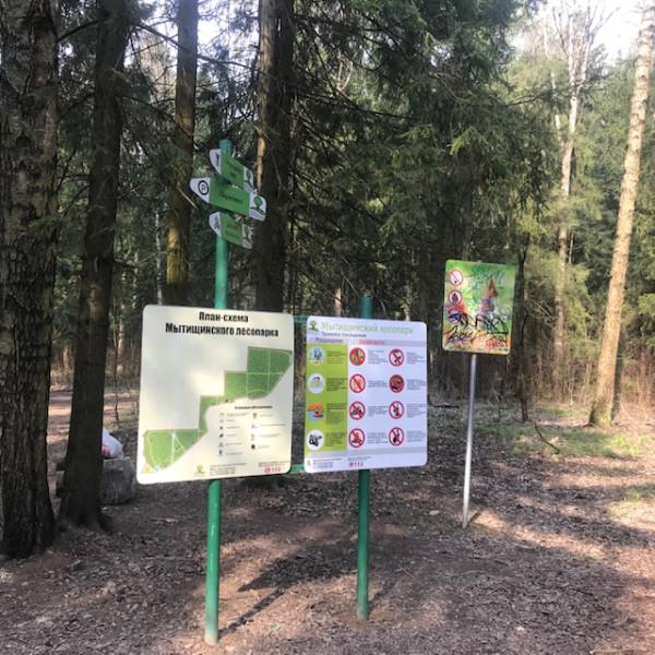 Осваивали сегодня Мытищинский лесопарк.