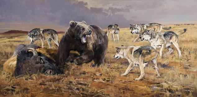 гризли и волки картер нимейер