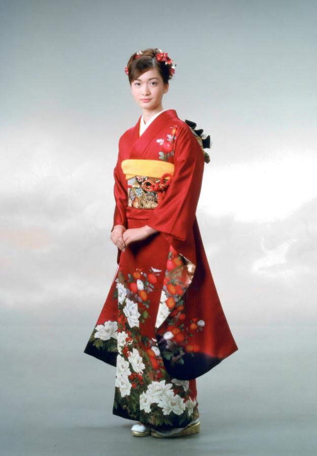 Women Kimono Tsumugi-6