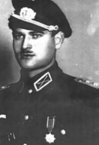 Командир сотни 1-го Донского полка ротмистр Н. Назаренко