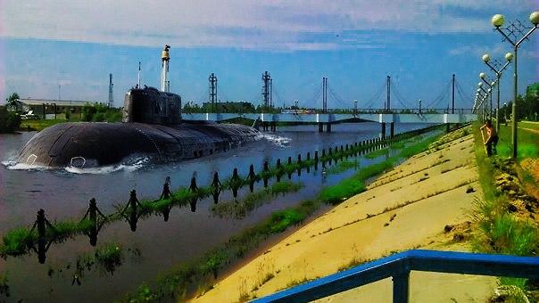 Подводная лодка Нижневартовск