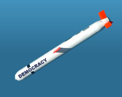 Cruise missile carrier Democracy in deep spiral
